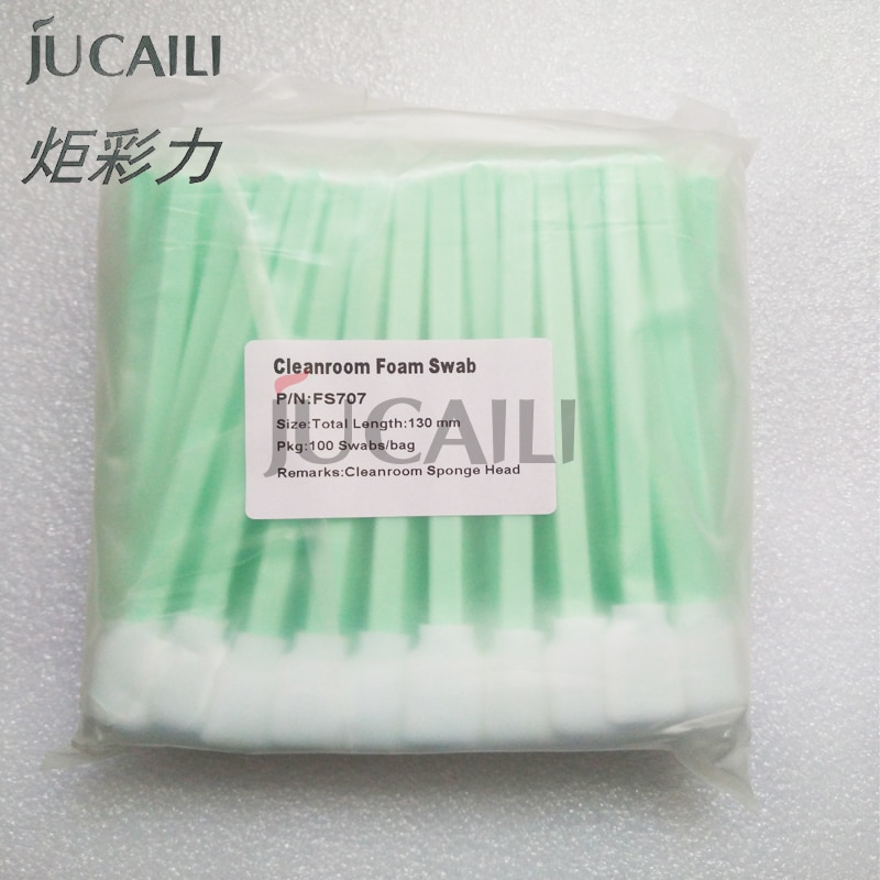 Jucaili printer Cleaning swab for xp600/dx4/dx5/dx7/5113/4720 head Allwin Mimaki Mutoh printer eco solvent ink brush 13cm jucaili 10pcs ffc flat data cable 29pins 400mm for epson xp600 print head cable for skycolor allwin aifa witcolor printer 29p