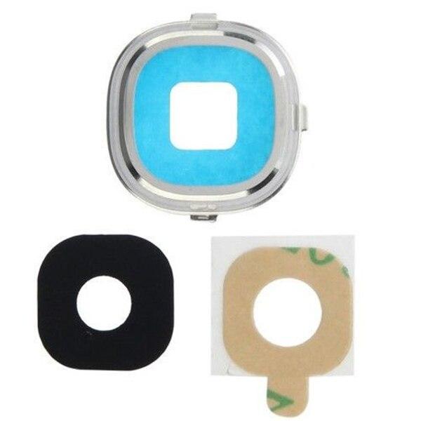 YUEYAO reemplazo de la cubierta de lente de cristal de la cámara para Samsung Galaxy S4 i9500 i9505 i337 i545 lente de la cámara