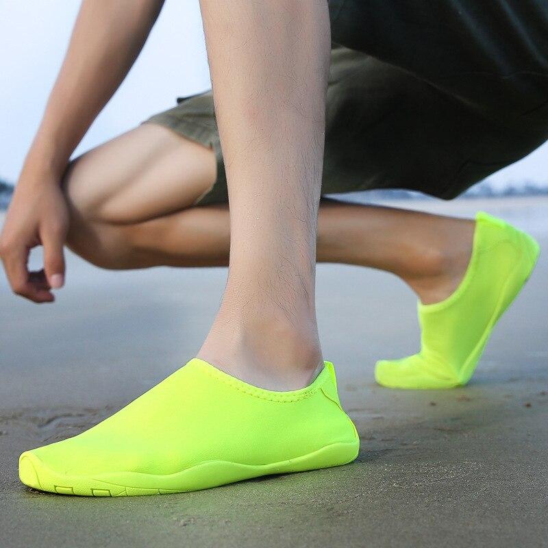 أحذية الصيف للرجال أحذية رياضية الشاطئ النساء الرياضة تشغيل المياه أكوا الوجه يتخبط السباحة الغوص التنزه التخييم اطلاق النار الرقص المجال
