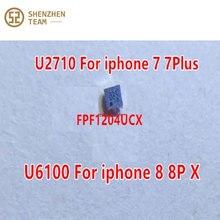 SZteam 10pcs/lot new original U6100 FPF1204UCX ACCESSORY BUCK IC for iphone 8 8plus X U6100, 7 7P U2
