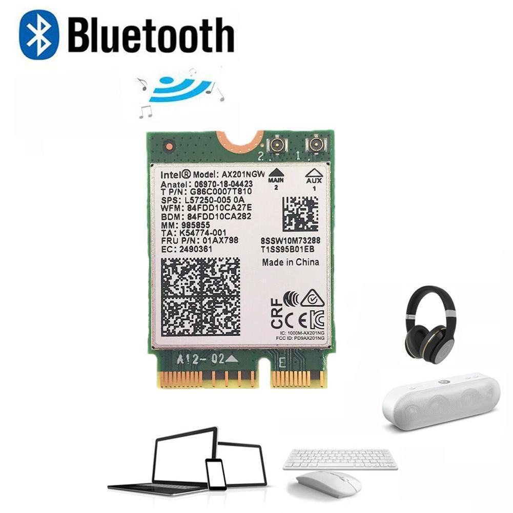 Doble banda 2400Mbps inalámbrico para Intel AX200 NGFF M.2 tarjeta 802 11ac/5,0...