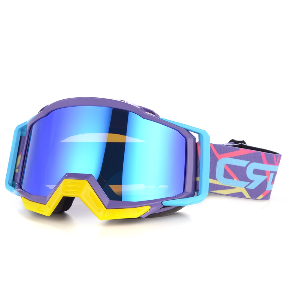dustproof motocross glasses adjustable motorcycle goggles breathable full face protective dirt bike motorbike dirt bike off road Motocross Motorcycle Goggles ATV Off Road Dirt Bike DustProof Racing Glasses Anti Wind Eyewear MX Goggles