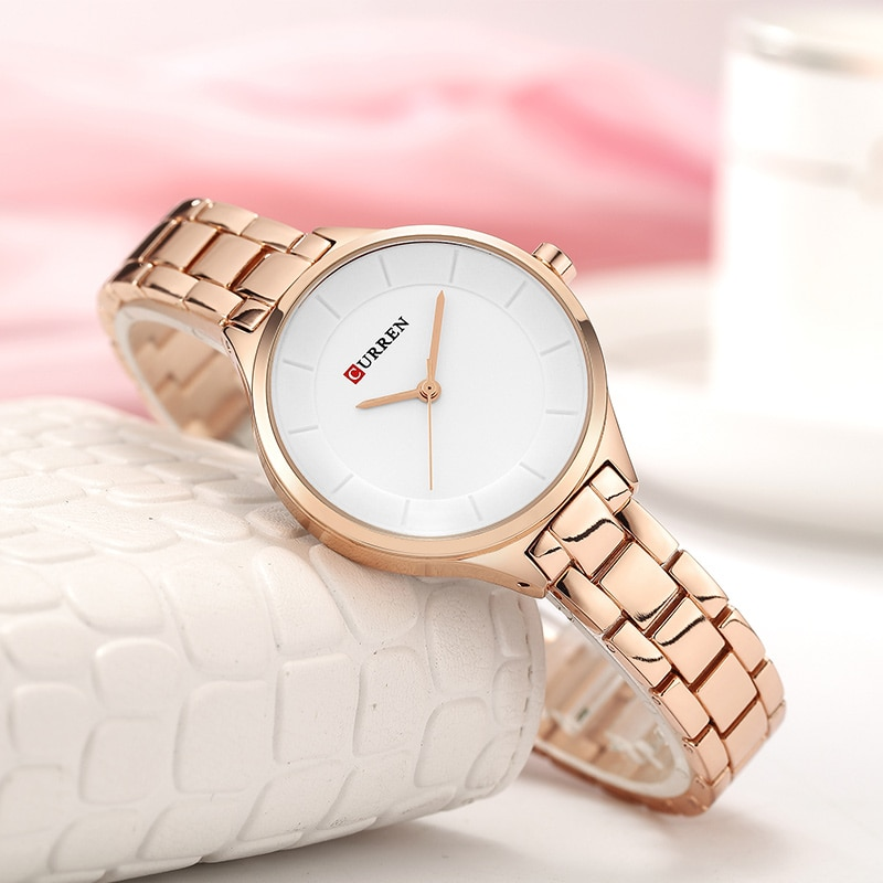 Women Watch Luxury Quartz Watches Lady Business Watch CURREN Stainless Steel Female Bracelet Clock Reloj Mujer Zegarek Damski enlarge