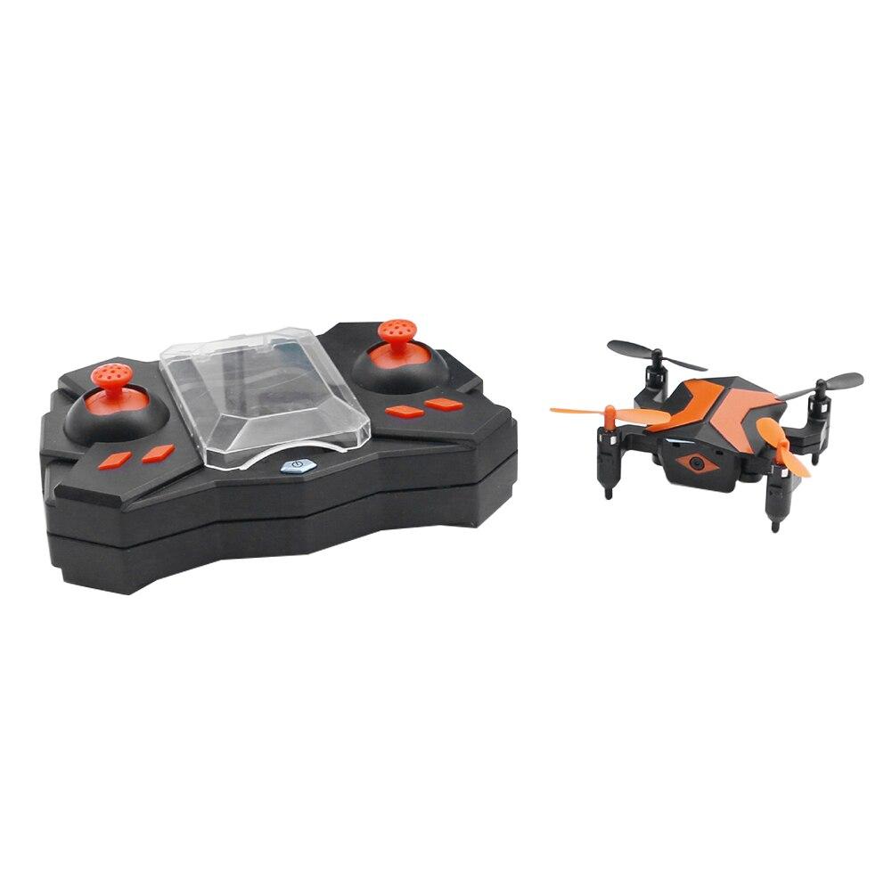Fotografía aérea RC Drone al aire libre para niños WIFI AR modo de juego Super Mini 360 grados Flip Altitude Hold plegable portátil
