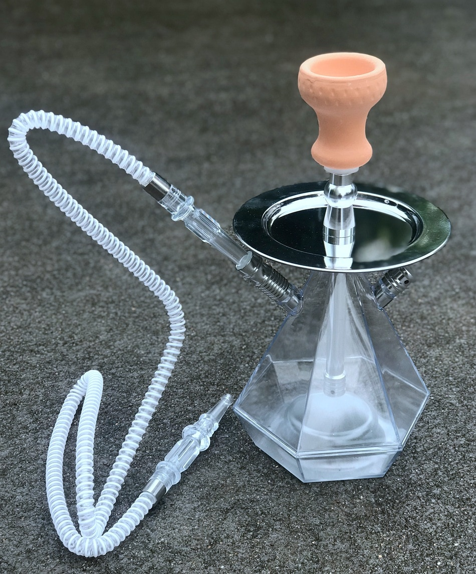 Complete Set Acrylic Shisha Hookah Cachimba Narguile with Shisha Bowl Water Pipe Smoking Accessories Water Pipes for Smoking enlarge