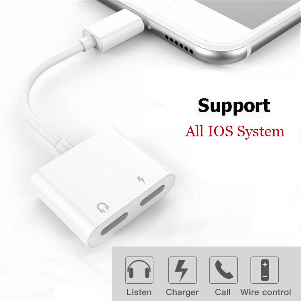 Adaptador de carga de Audio para iluminación 4 en 1, Adaptador de...