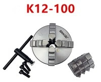 SAN OU K12-100 four-jaw self-centering chuck 100mm 4'' inch chuck lathe