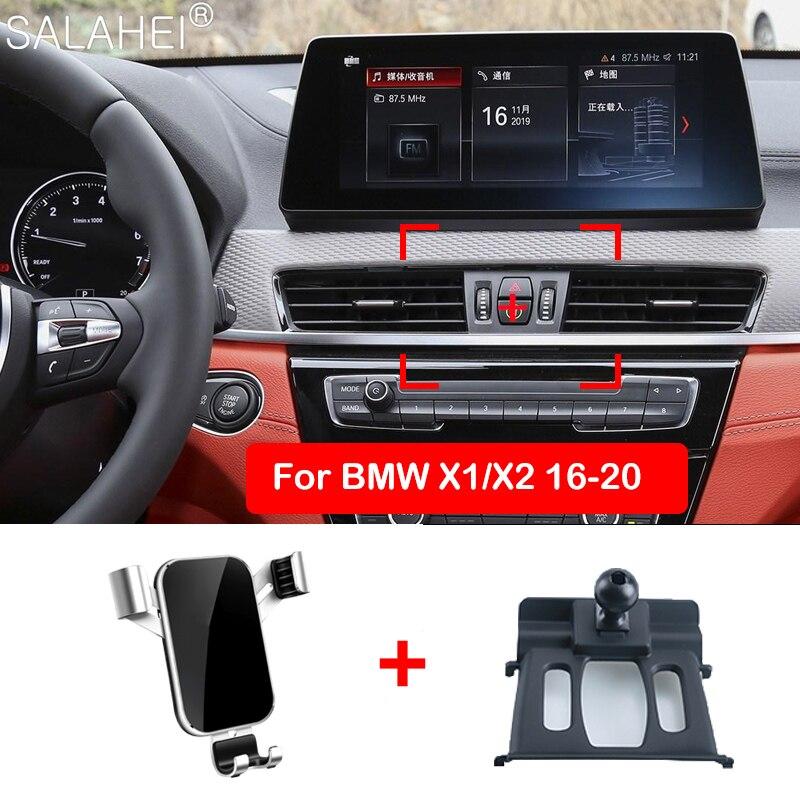Soporte de teléfono para coche Beautifu para BMW X1 X2 X3 X4 X5 X6 X7 G01 G02 F48 F39 soporte de teléfono inteligente soporte especial soporte accesorios de coche