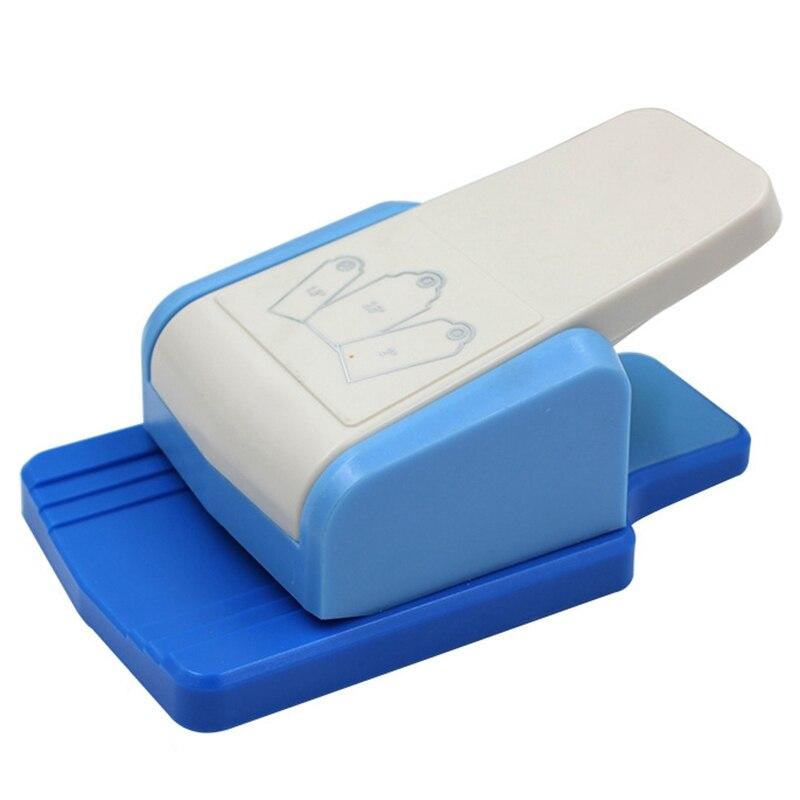 Perforador de etiquetas DIY, marcador, perforador, regalo, papel de etiqueta perforador de papel, herramienta Manual