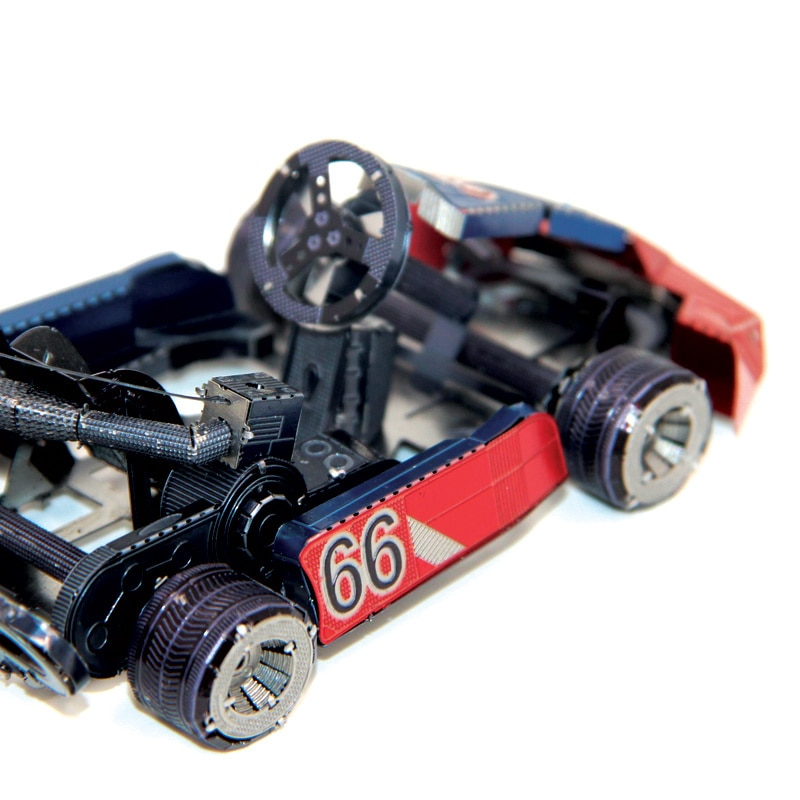 Rompecabezas 3D DIY de metal, mini modelo de metal KART, colección de...