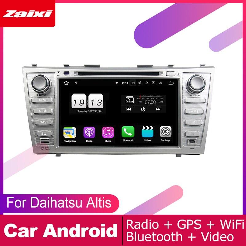 Para Daihatsu Altis 2006 2007 2008 2009 2010 2011 sistema Multimedia Android para coche reproductor de DVD GPS navegación Radio Audio