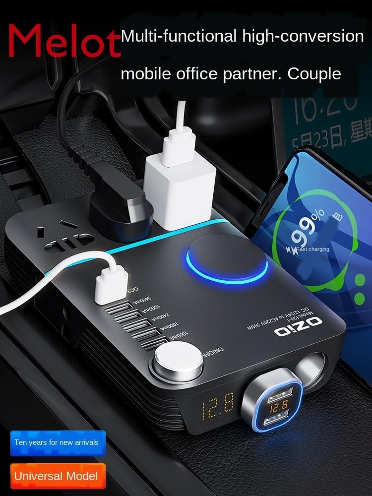 Car Inverter 12V/24V to 220V Household Power Converter Multi-Function Auto Socket Charger Popular hot toll kit enlarge