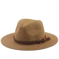 panama hat summer sun hats for women men beach straw hat fashion uv sun protection travel cap chapeu feminino 2021