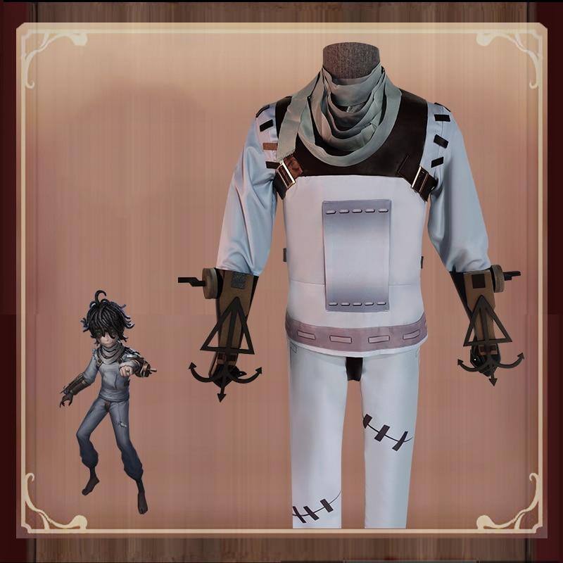 لعبة الهوية الخامس تأثيري ازياء الناجي أمير المريض تأثيري حلي الجلد الأصلي زي هالوين ملابس للحفلات يتوهم