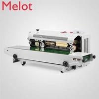 hot sale automatic horizontal continuous plastic bag band sealing sealer machine fr900