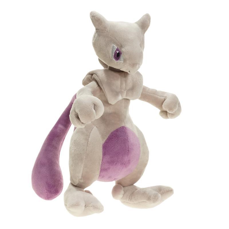 Mewtwo de felpa juguetes 25cm