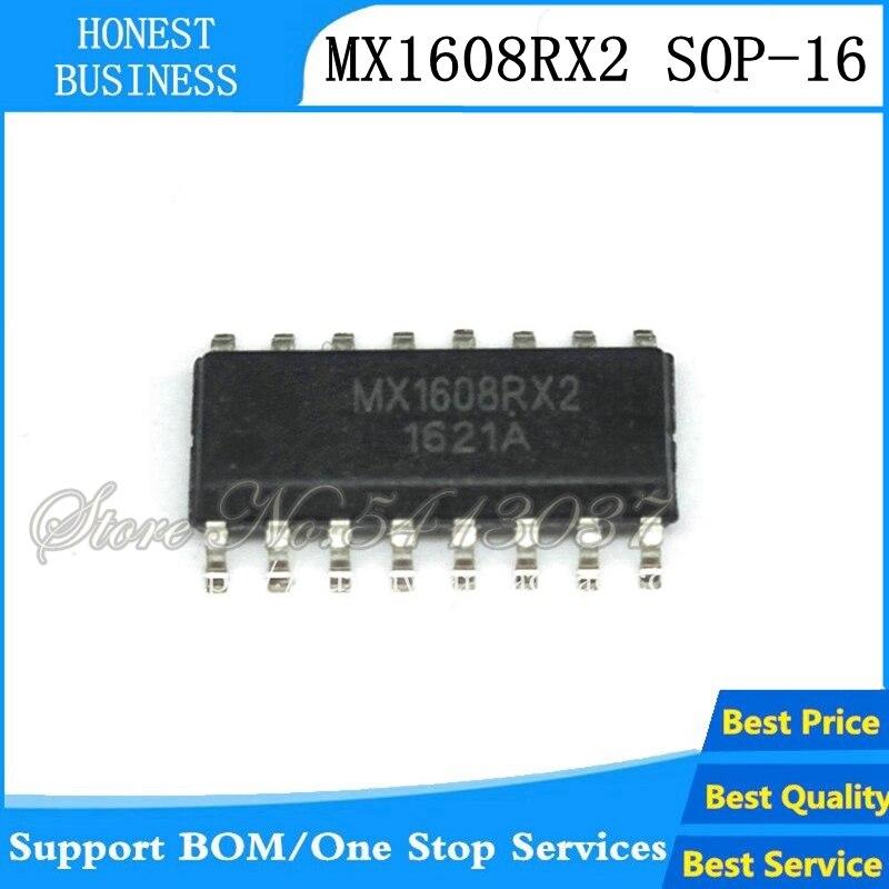100pcs/lot MX1608RX2 SOP-16 MX1608RX MX1608 SOP16