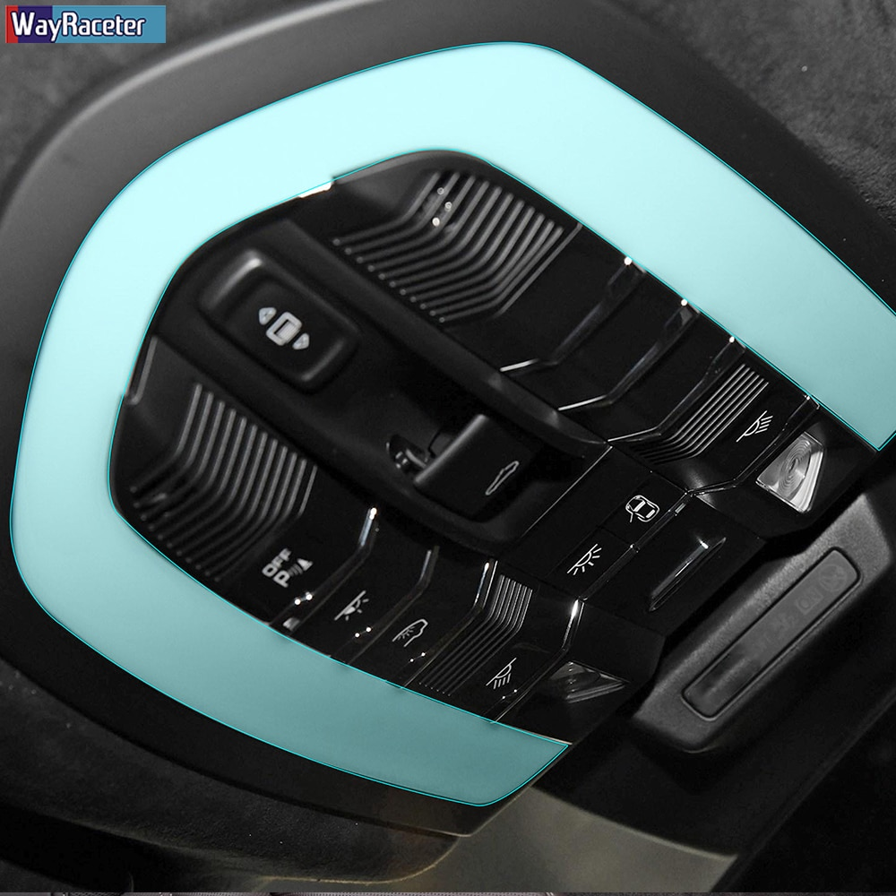 Car Interior Central Console Dashboard TPU Sticker Transparent Protective Film For Porsche Macan 2014-Present Accessories enlarge