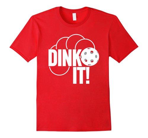 Dink It camiseta divertida Pickleball gráfico regalo camiseta Camiseta estilo verano hombres Top Tee diferentes colores alta calidad 100%
