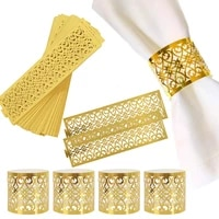 1020pcs napkin rings wedding napkin rings decoration ring table decoration accessories for wedding party decor hotel supplies