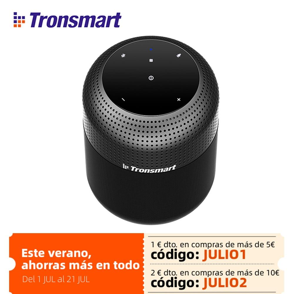 Tronsmart T6 Max For سمّاعات بلوتوث 60 واط مكبرات صوت المسرح المنزلي عمود بلوتوث مع مساعد صوت ، IPX5 ، NFC ، 20H وقت اللعب