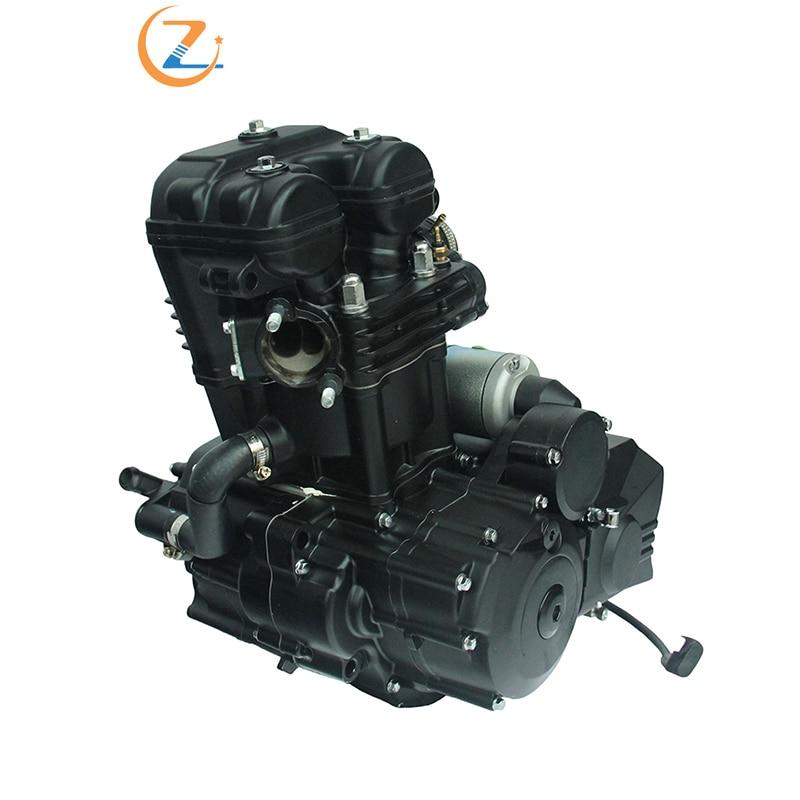 Nueva motocicleta todoterreno CB250 4 Vavles 5 motores refrigerados por agua para XinYuan CB250 4 Vavles 5 engranaje Wate refrigerado Engines2FDJ-030