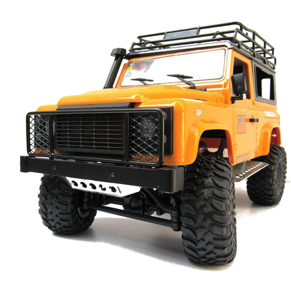 Toy Kids RC Car Front Bumper Crawler Frame Middle Fence Grid Metal Anti-Collision Guard Easy Install