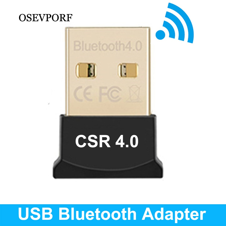 Wireless USB Bluetooth Adapter Dongle Aux Audio Bluetooth 4.0 Sound Speaker Music Receiver Transmitter For Computer PC PS4 Mouse