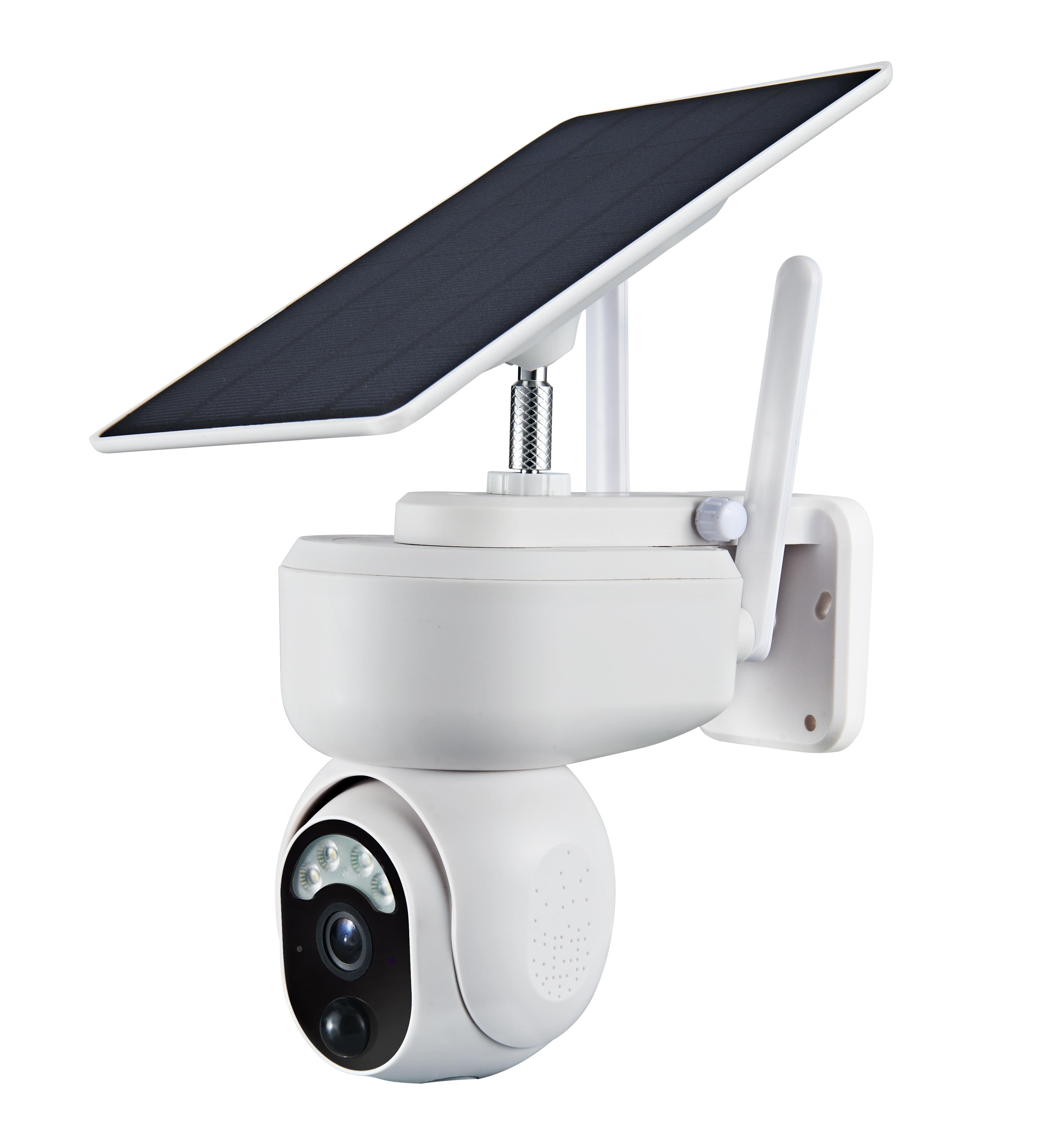 S30 ذكي الخلايا الشمسية واي فاي كاميرا لا سلكية IP65 في الهواء الطلق مزرعة الرصد