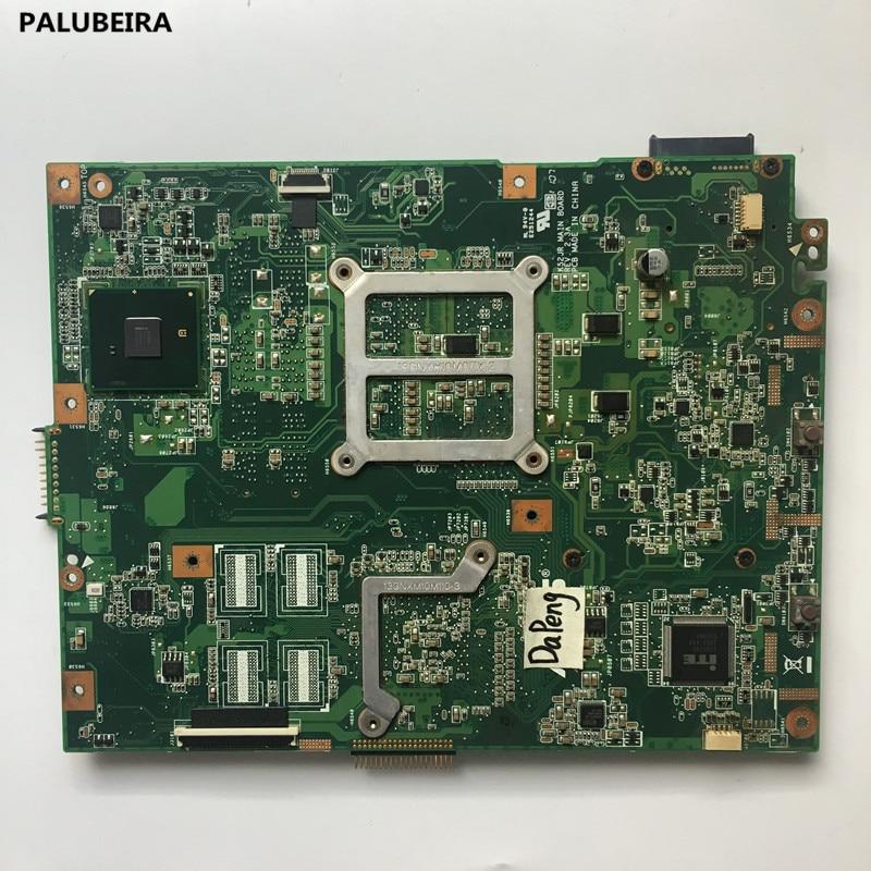PALUBEIRA K52JT K52JU placa base para ASUS K52JU K52J A52J K52JR K52 K52JE X52J placa base portátil REV2.3A HD6370 512