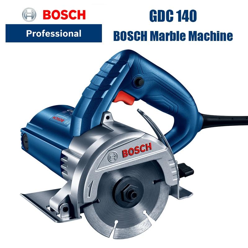 Bosch GDC140 طاحونة حجر آلة قطع الأدوات الكهربائية بلاط الخشب الرخام الشق الكهرومائية الرخام آلة 1400W