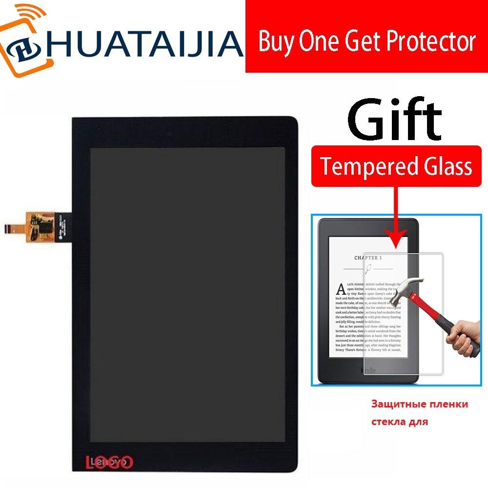 10.1 polegada digitador da tela de toque com display lcd vidro para lenovo yoga tab 3 YT3-X50M YT3-X50F substituição assembléia