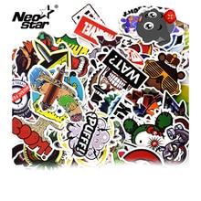 Pegatinas de vinilo mixto Neo Star para Tablet, portátil, Moto, coche, Maleta, impermeable, teléfono móvil, pegatinas decorativas