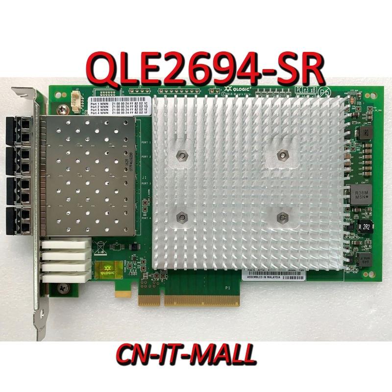 Cartão com Módulos Qlogic Quad fc Hba Qle2694-sr 16 gb