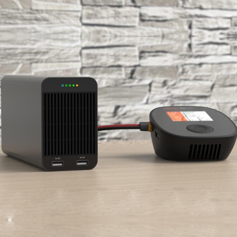 ISDT SP2417 400W / SP2433 800W 33ARC Batterie Ladegerät Adapter High Power Schalter Smart Control Mit LED USB lade für RC Modelle
