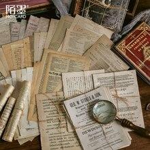 10 Pcs Retro Medieval Books Material Paper Junk Journal Planner Scrapbooking Vintage Decorative Diy Craft Background Paper