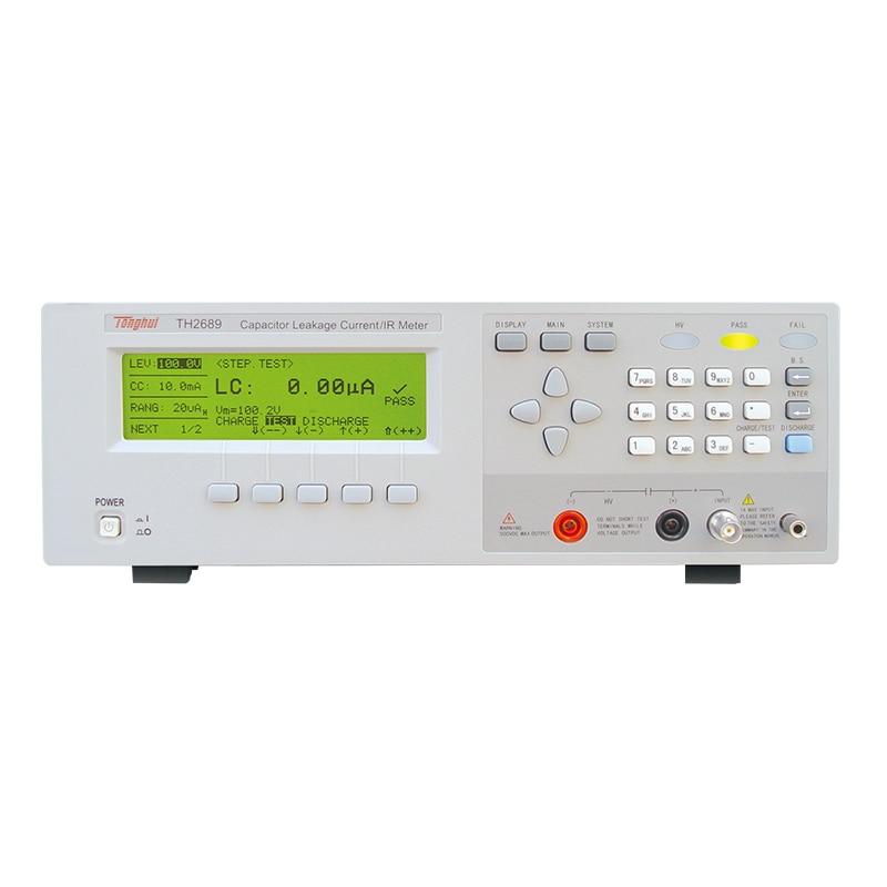 TH2689 مكثف 800 فولت الناتج تسرب الحالي IR متر ماكس شحن الحالي 500mA