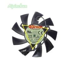 Yeni 75mm T128015SH 2P 2Pin 12V 0.32A soğutma fanı EVGA GTX 650 650Ti GTS 450 ekran kartı soğutucu Fan GV-N450-512I GV-N240D5