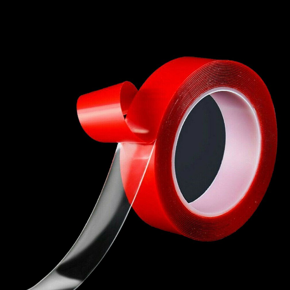 1,5x200 cm/2x300 cm/3x300 cm cinta mágica multifunción de doble cara cinta lavable sin costuras pegamento de cocina de plástico Nano-Invisible