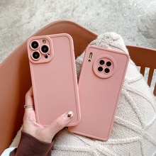 Luxury Matte Cover For Apple iPhone 13 12 11 Pro XS Max X XR SE 2020 8 7 6S Plus Case Soft Silicone