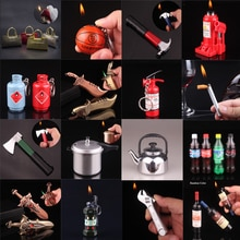 Cigar Butane Keychain Lighter Throwing Supplies Supply Cookware Small Kettle Clamp Wrench Tool Model