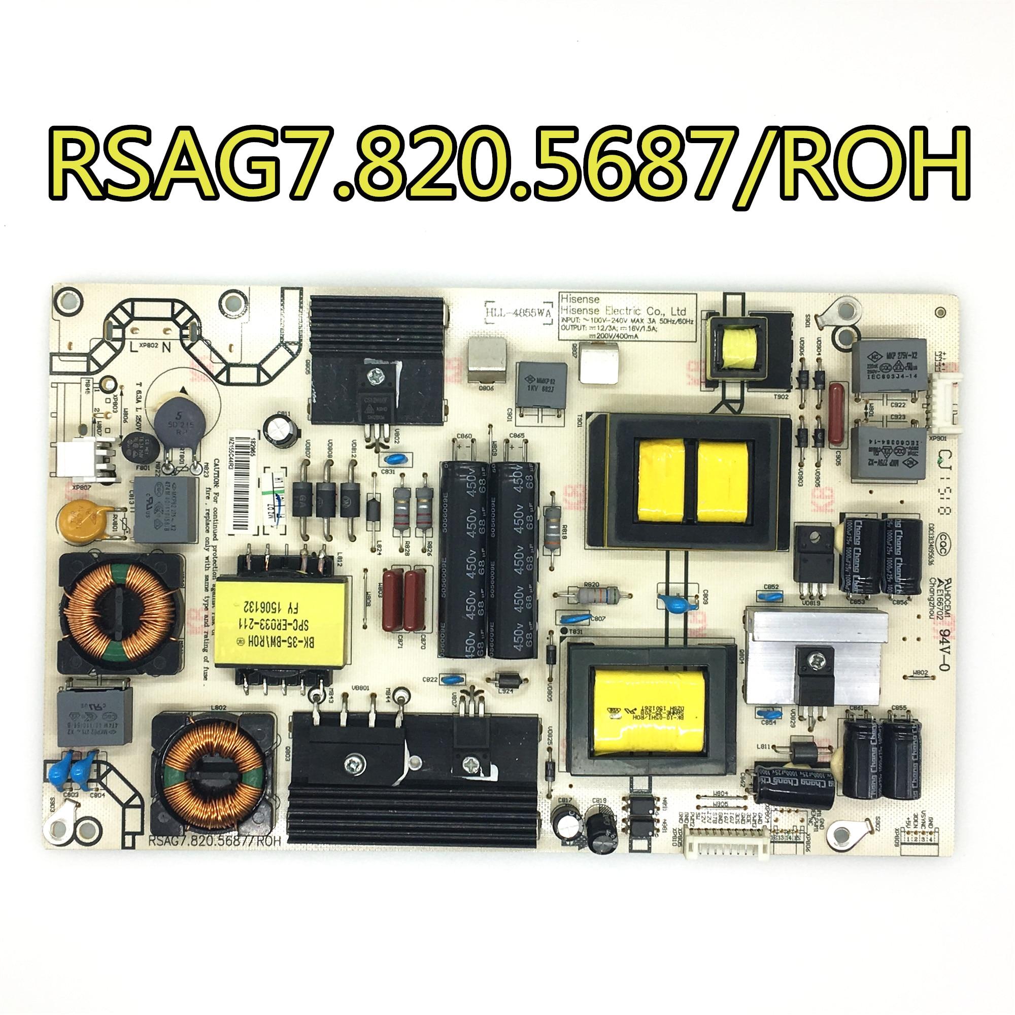 Prueba de 100% original para LED42K380U/LED55K370/LED50K320U, placa de alimentación RSAG7.820.5687/ROH