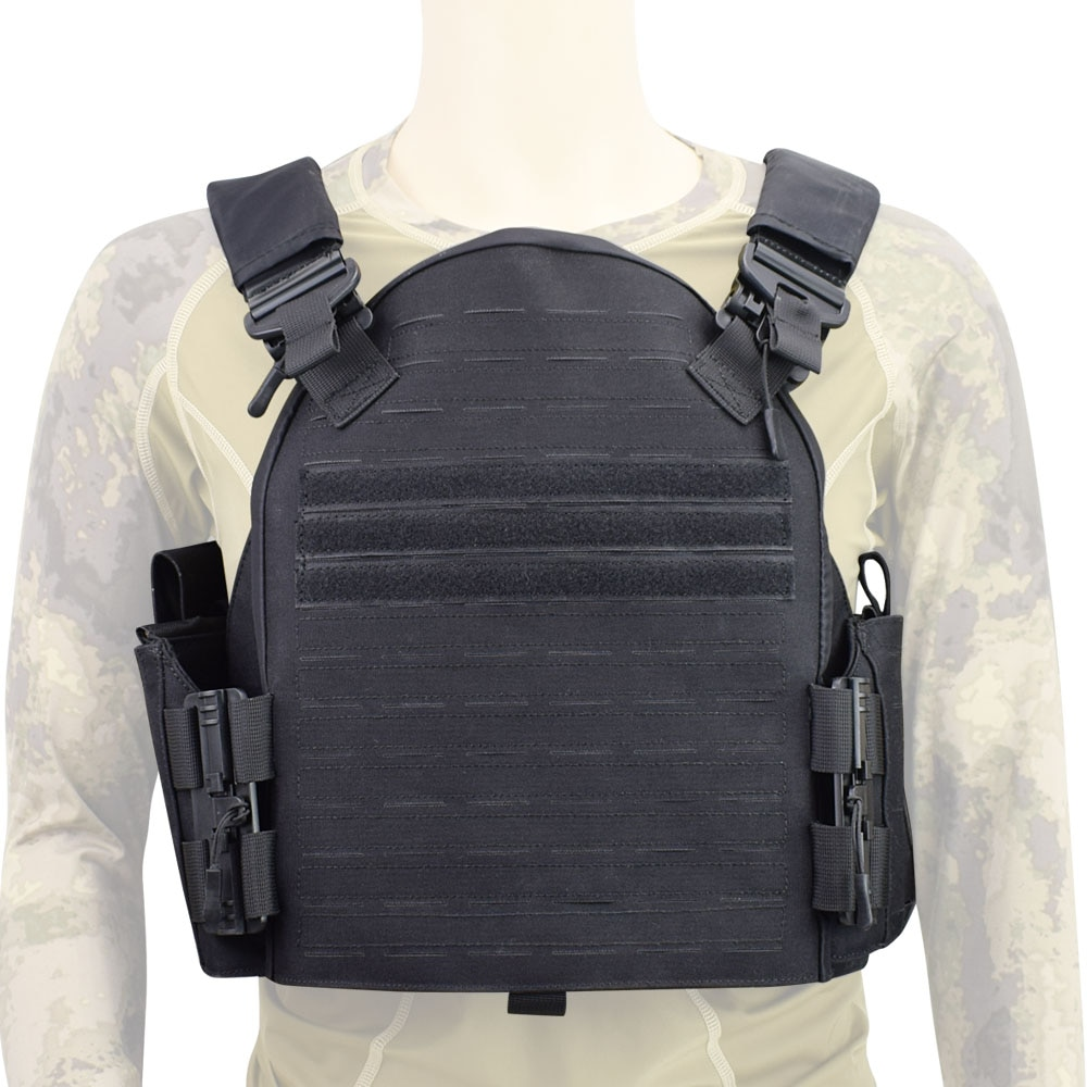 Military Tactical Plate Carrier Vest Laser Cut Combat Molle Vest Outdoor Airsoft Protective Gear CS Paintball Hunting Body Armor