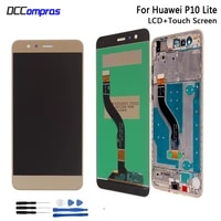 original for huawei p10 lite lcd display touch screen digitizer assembly repair parts for huawei p10 lite screen lcd display