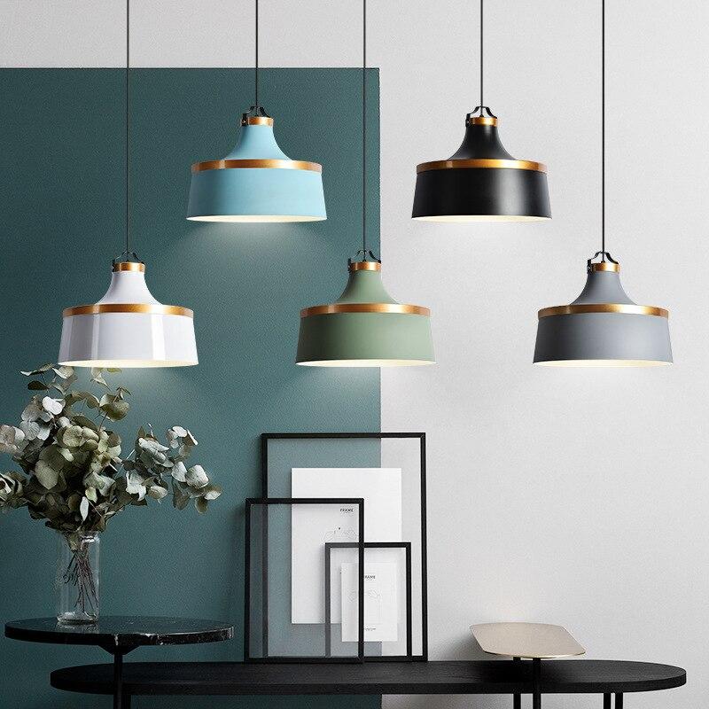 مصباح سقف بتصميم إسكندنافي حديث ، تصميم ما بعد الحداثة ، مثالي لغرفة الطعام أو البار أو المقهى ، شحن مجاني