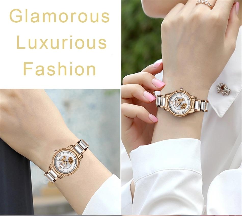 SUNKTA Rose Gold Women Watches Quartz Watch Ladies Top Brand Luxury Female Watch Waterproof Girl Clock Gifts Relogio Femininos enlarge