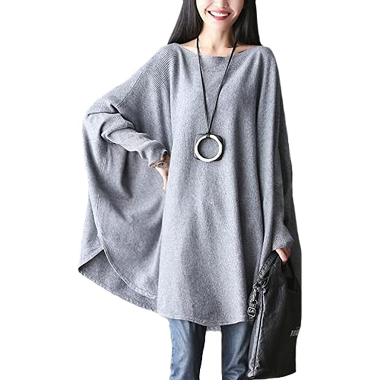 Fashion Blouse 2021 Women's Top Round Neck Batwing Sleeve Asymmetrical Tunic  blouses blusas mujer рубашка женская