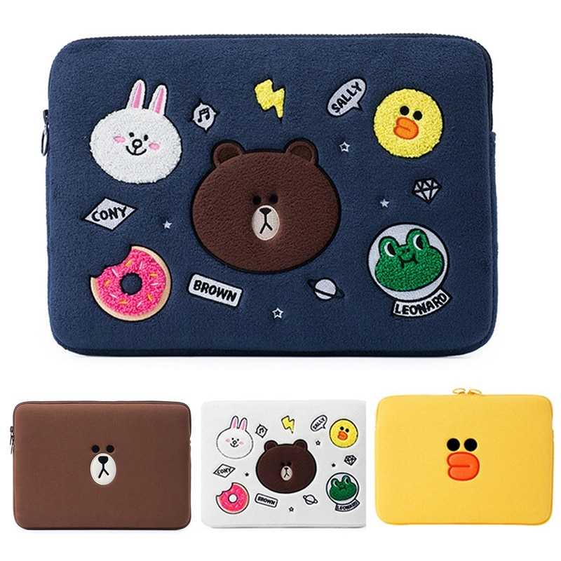 Funda bonita con estampado de animales para portátil 10, 11, 12, 13,3, 14, 15, 15,6 pulgadas para laptop, bolsa para Macbook air pro 13
