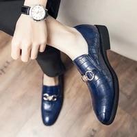 luxurious office business gentleman oxford shoes for men black brand mens moccasins designer leather shoe large size