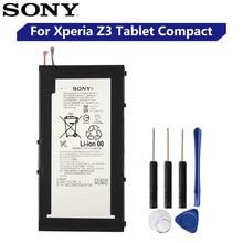 Original Ersatz Sony Tablet Batterie LIS1569ERPC Für SONY Xperia Z3 Tablet Compact Echtem Tablet Batterie 4500 mAh